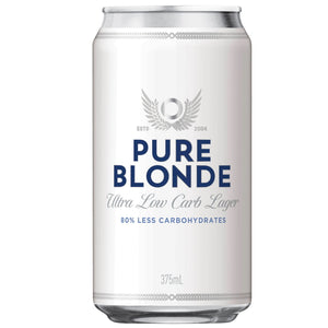 Pure Blonde Ultra Low Carb Lager Cans 375mL