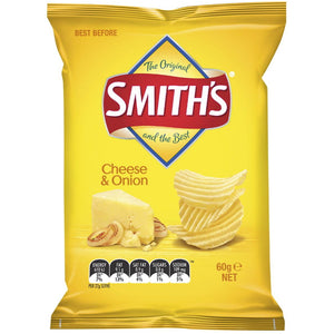 SMITHS CHEESE & ONION 60G
