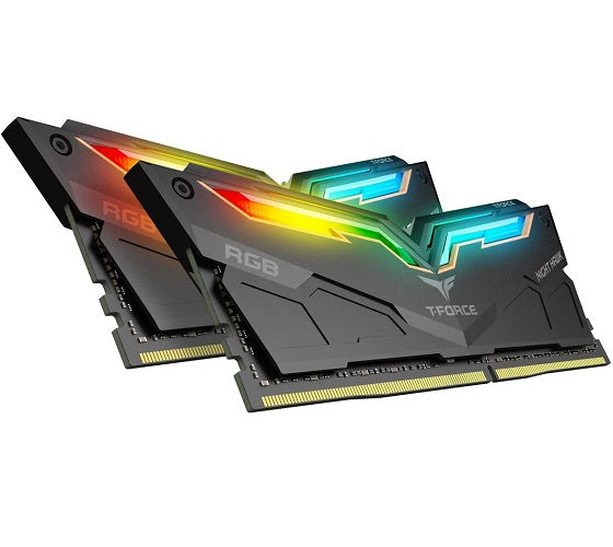 Team Group T-Force Night Hawk RGB - DDR4 - 32GB (2x16GB) - 3200MHz
