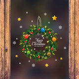 Merry Christmas Household Room Wall Sticker Mural Decor Decal - YAXIR