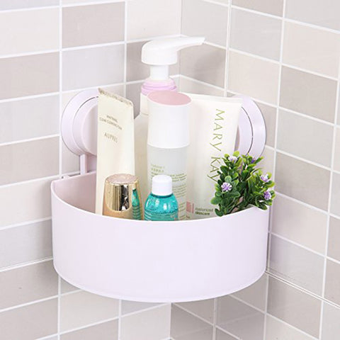 Wall-Mounted Sucker Triangle Shelf Storage for Bathroom and Kitchen - YAXIR