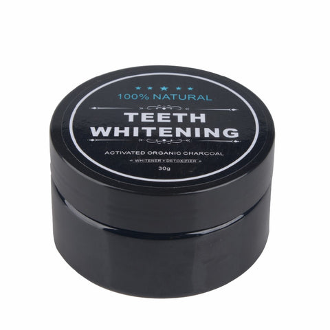 Teeth Whitening Powder Activated Charcoal Stain Remover - avdaco