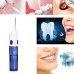TODO AR - W - 12 Electric Oral Irrigator Dental Water Jet Floss Pick Teeth Cleaning Flusher - avdaco