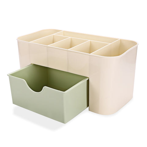 Multi-compartment Desktop Cosmetic Storage Box Container - YAXIR