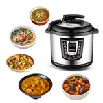 Stainless Steel Electric Pressure Cooker - avdaco