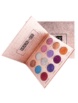 Professional 12 Colors Glittering Long Lasting Eyeshadow Palette - avdaco
