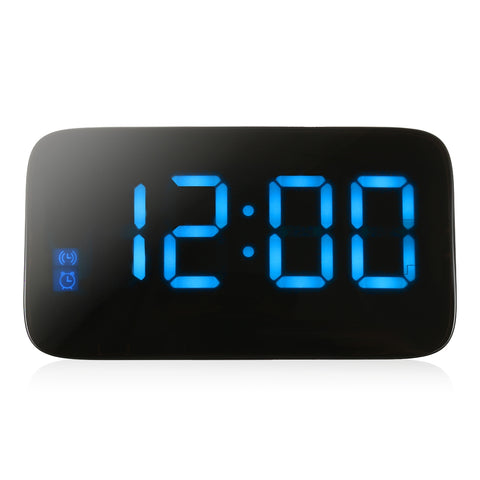 JK - 015 LED Digital Alarm Clock Voice Control Time Display for Home or Office - YAXIR