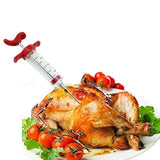 Meat Marinade Flavor Injector Syringe Seasoning Sauce Cooking Poultry Turkey Chicken BBQ Tools - YAXIR