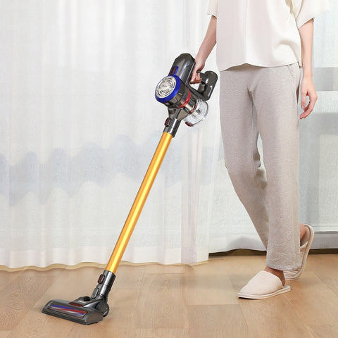 Dibea D18 Cordless Vacuum Cleaner with Motorized Brush - YAXIR