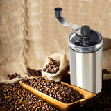Portable Manual Coffee Grinder with Adjustable Setting - YAXIR