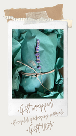 "Load image into Gallery viewer, Amethyst ""Calming, Intuitive"" Crystal and Live Air Plant, Plant Lover Meditation Room Gift, Earth Geode Planter, Gemstone Air Plant Display"
