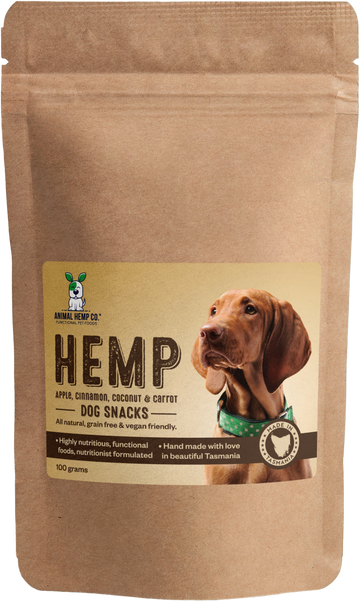 'Apple, Cinnamon, Coconut & Carrot' Hemp Dog Snacks