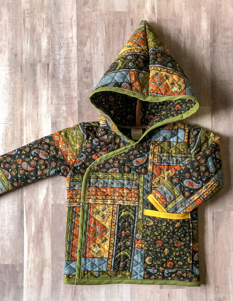 Quilted Granny Jacket