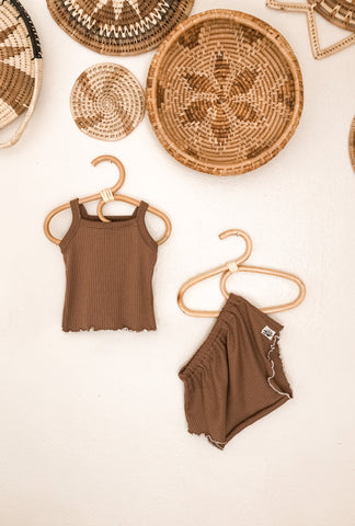 Ribbed Two Piece Tank Set