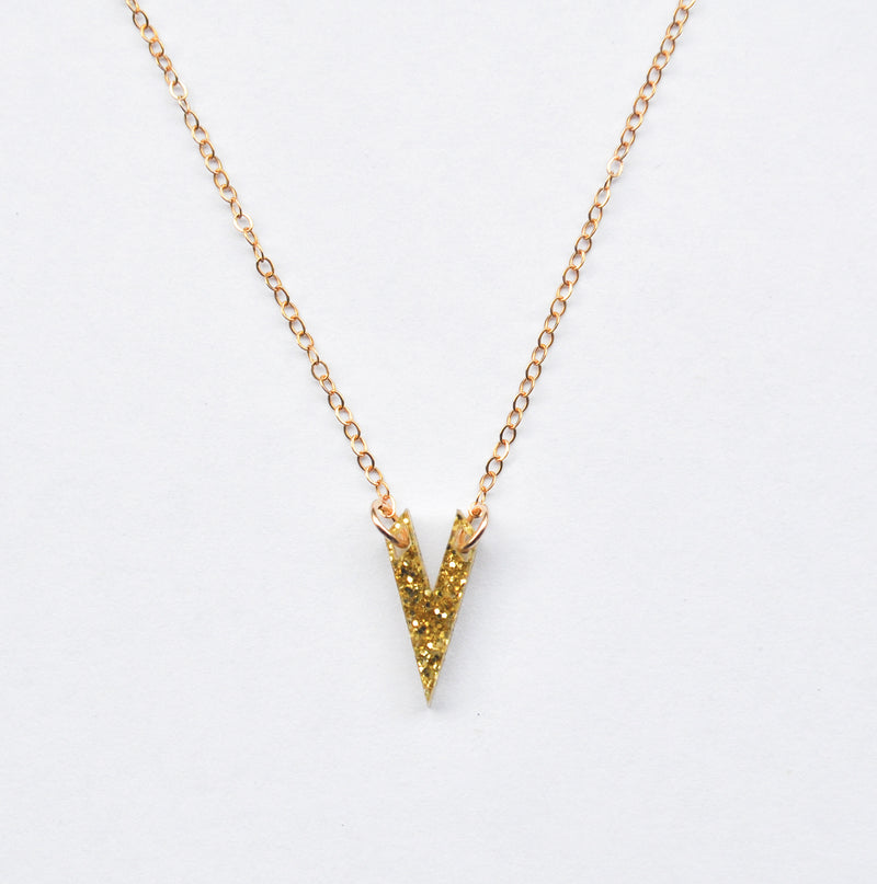 Classic Olivia Necklace - Gold