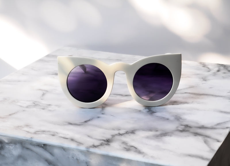 Heydar Sunglasses - White