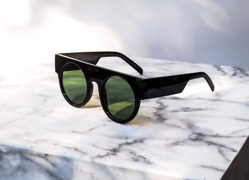 MAXXI Sunglasses - Black/Green