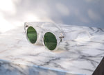 MAXXI Sunglasses - Clear/Green
