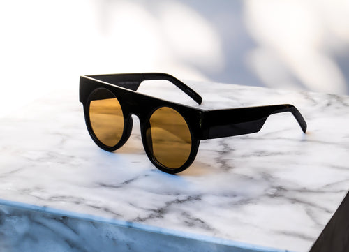 MAXXI Sunglasses - Black/Yellow