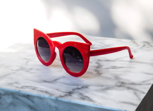 Heydar Sunglasses - Red
