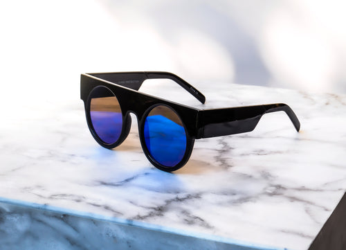 MAXXI Sunglasses - Black/Blue