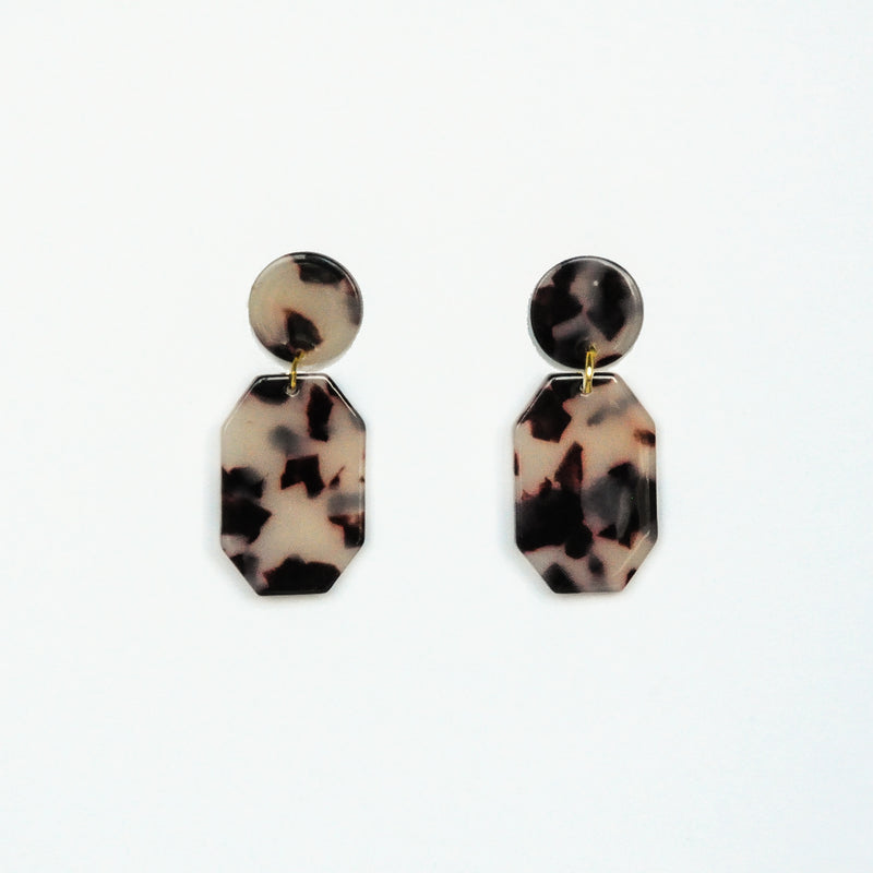 MOD Emerald Earrings - Light Tortoise