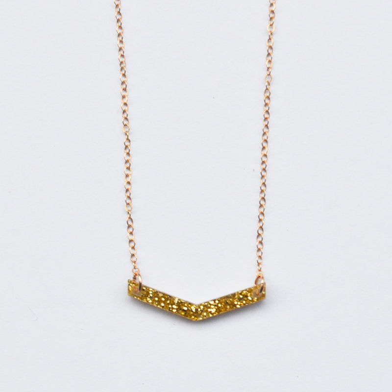 Classic Vera Necklace - Gold