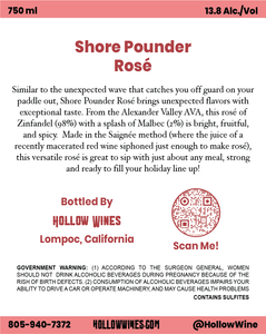 2019 Shore Pounder Rose'