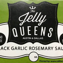 Load image into Gallery viewer, Black Garlic Rosemary Sauce (5 Ounce Jar)