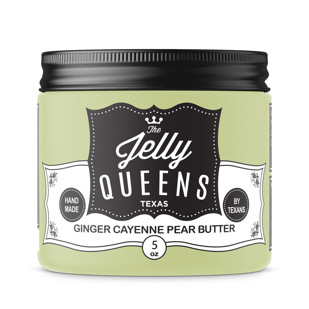 Fall - 6oz Ginger Cayenne Pear Butter