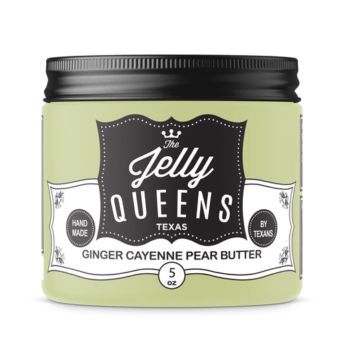 Ginger Cayenne Pear Butter (5 Ounce Jar)