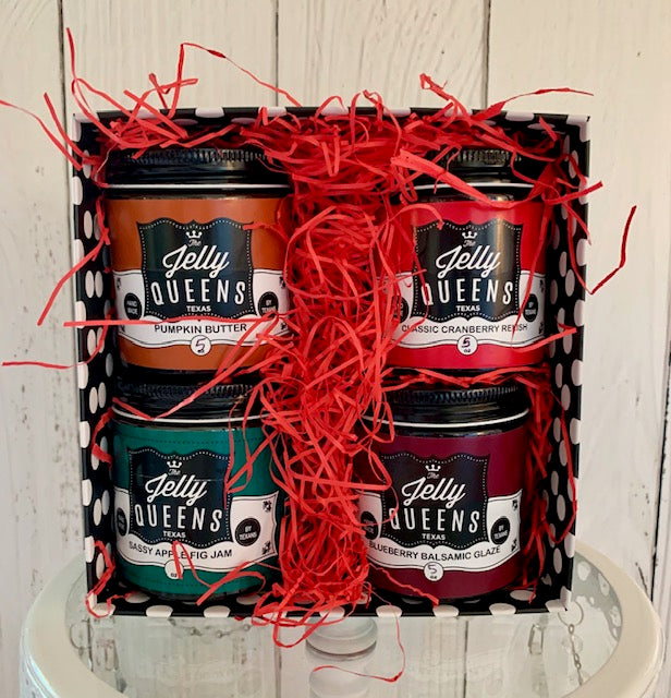 Gift 4-Pack of Jellies & Jams (5 Ounce Jars)