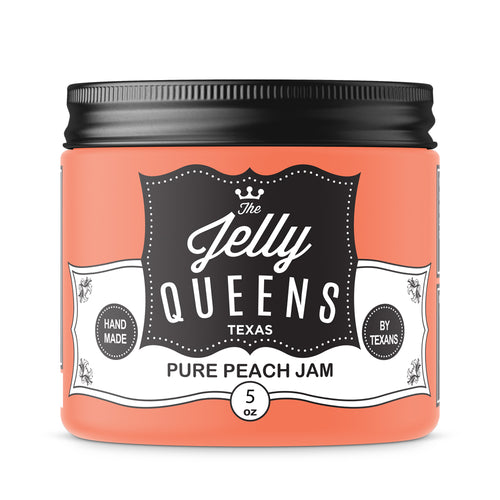 Pure Peach Jam (5 Ounce Jar)