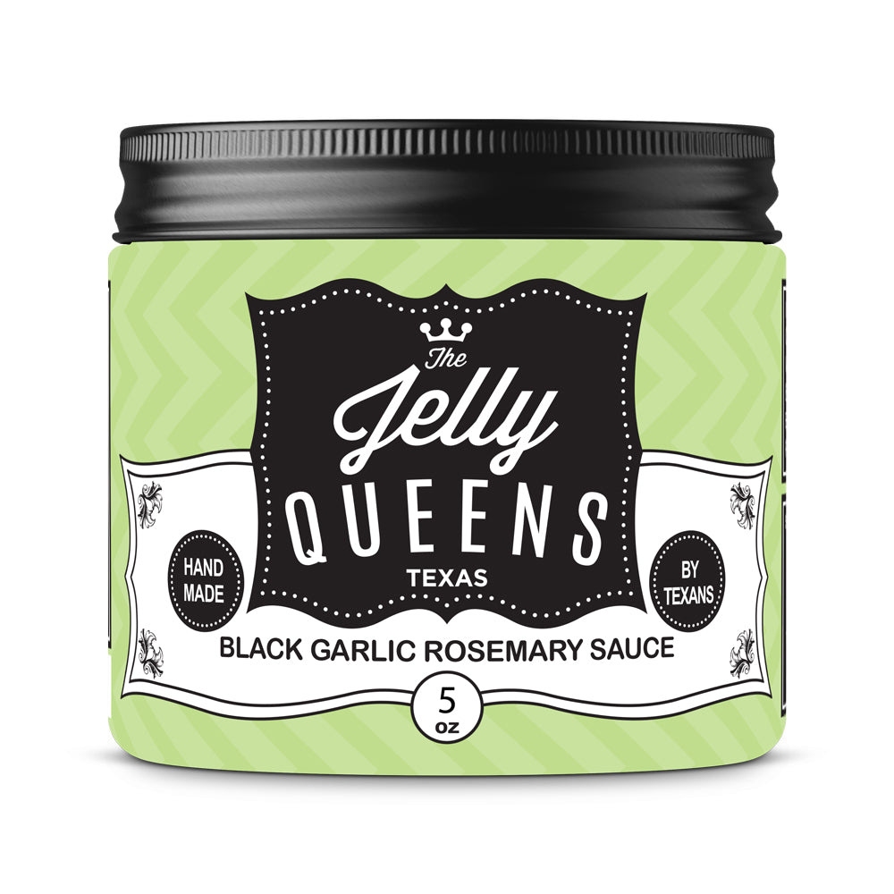 Black Garlic Rosemary Sauce (5 Ounce Jar)