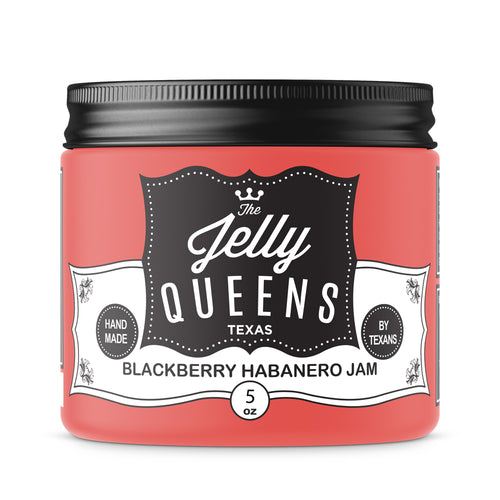 Blackberry Habanero Jam (5 Ounce Jar)