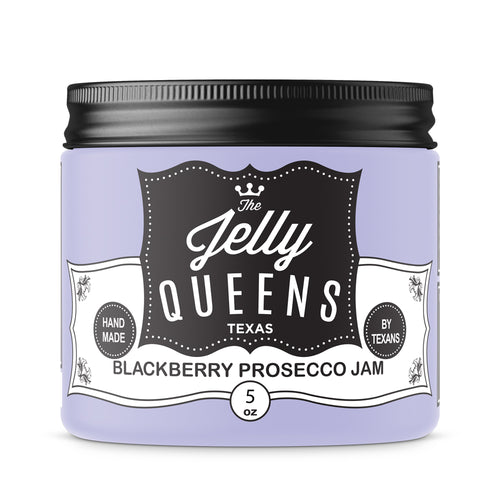 Blackberry Prosecco Jam (5 Ounce Jar)