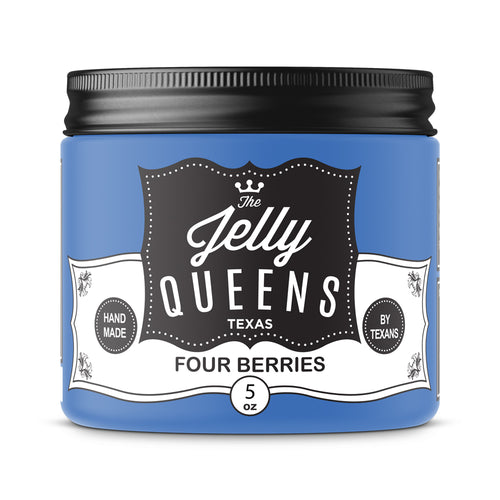 Four Berries Jam (5 Oz Jar)