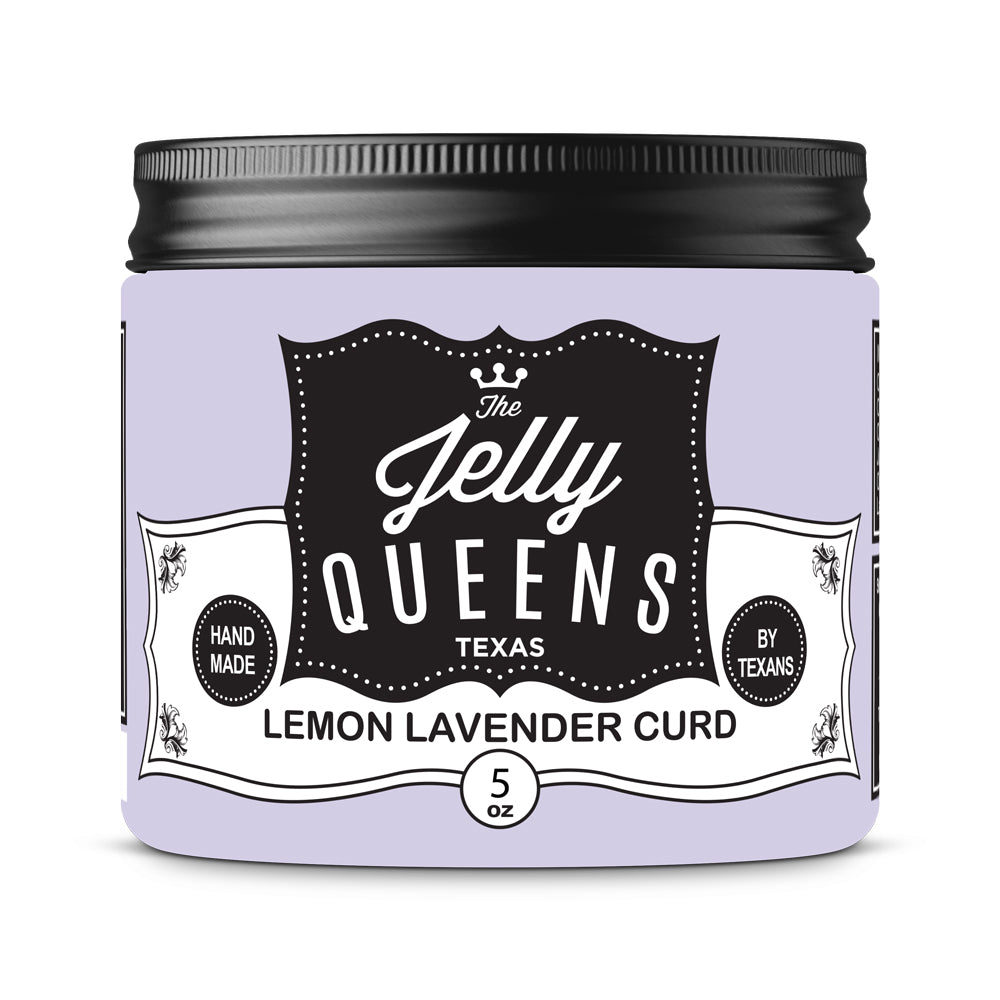 Lemon Lavender Curd (5 Ounce Jar)