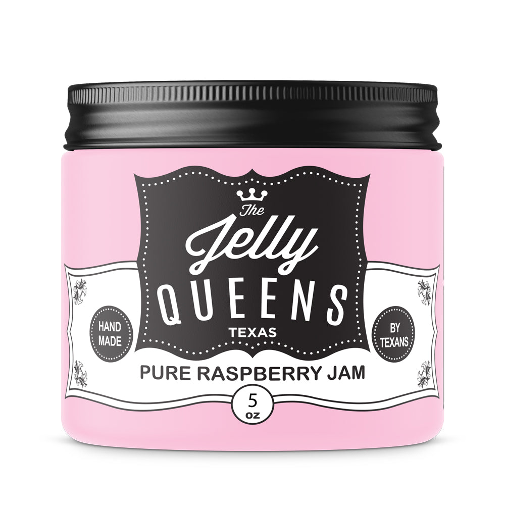 Pure Raspberry Jam (5 Ounce Jar)