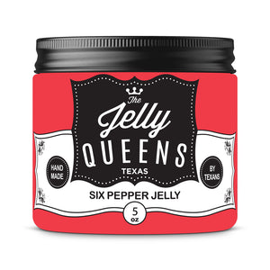 Six Pepper Jelly ( 5 Ounce Jar)