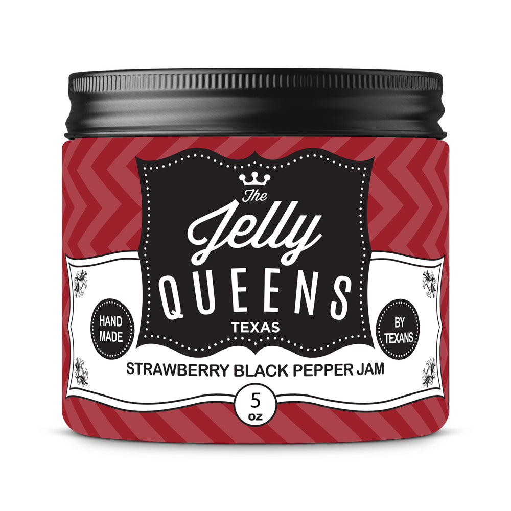 Strawberry Black Pepper Jam (5 Ounce Jar)