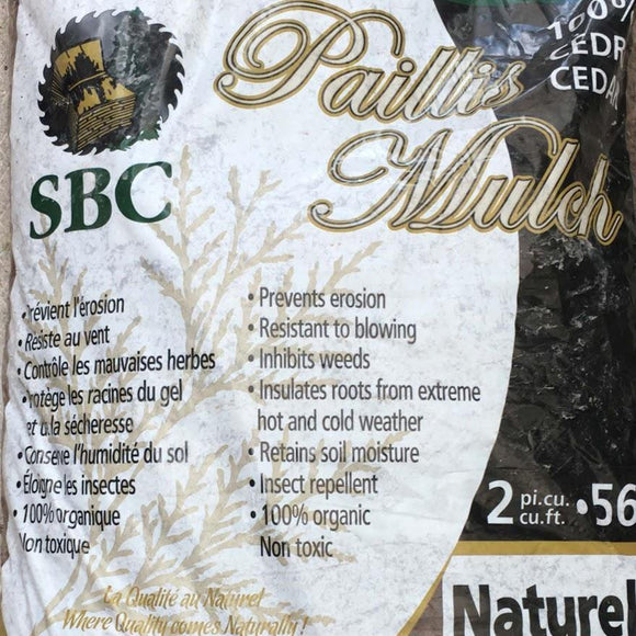 Bulk Yard - Bagged Products - Bagged Mulch - available from RiceRoadGreenhouses in Ontario, Canada