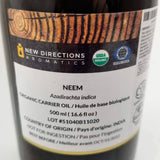 NEEM OIL 500ml - available from RiceRoadGreenhouses in Ontario, Canada
