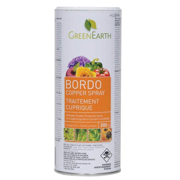 Bordo Copper Spray (Domestic) 200g - available from Rice Road Greenhouses in Ontario, Canada