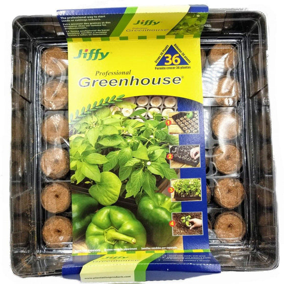 Jiffy Greenhouse - Grows 36 Plants!