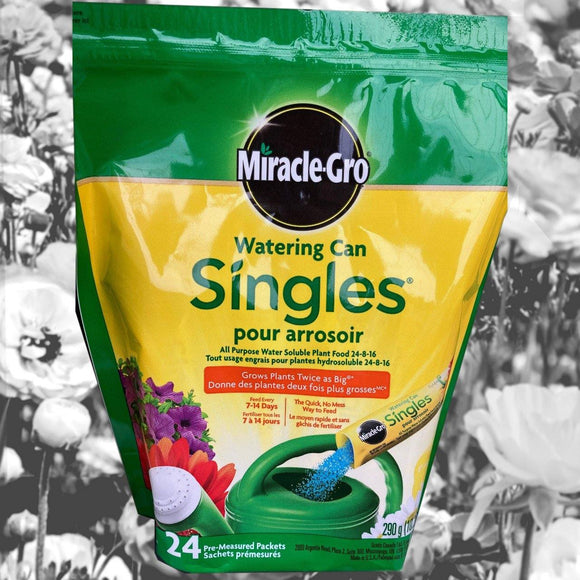 Miracle-Gro Watering Can Singles - 24 Packets