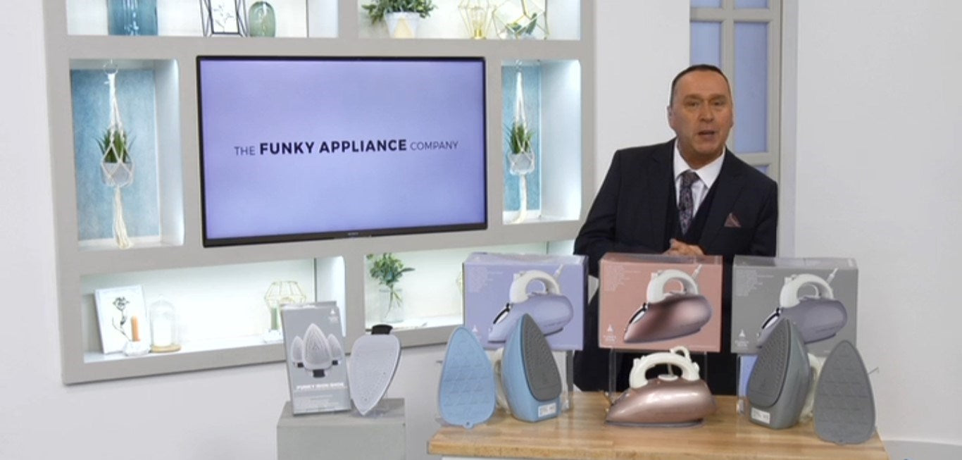 FUNKY IRON LAUNCHES ON IDEAL WORLD TV