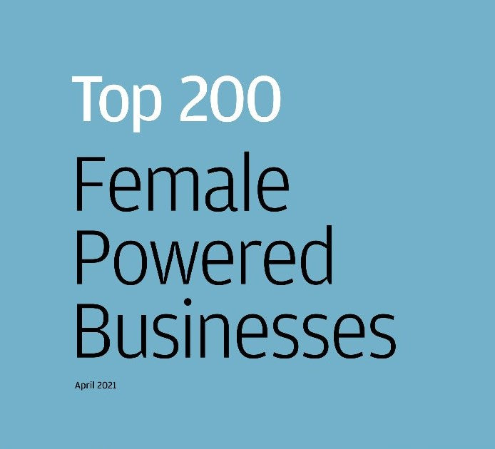 FUNKY NAMED IN JP MORGAN'S TOP 200 UK FEMALE POWERED BUSINESSES