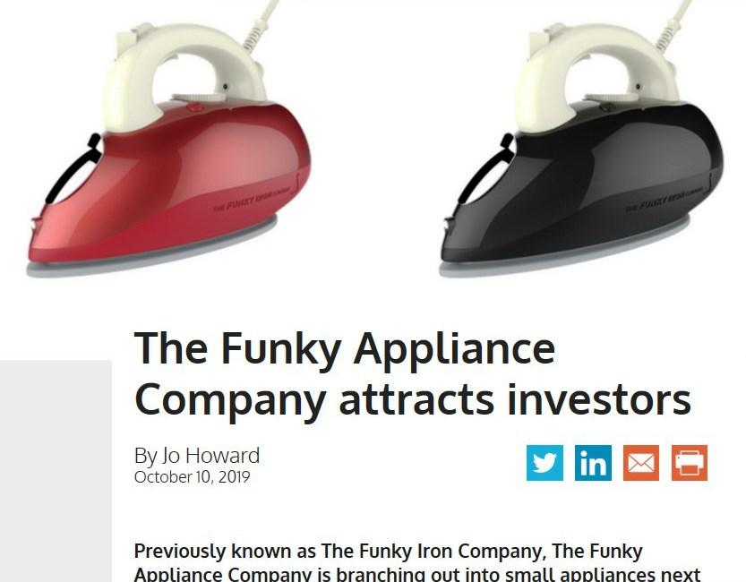PROGRESSIVE HOUSEWARES: THE FUNKY APPLIANCE COMPANY ATTRACTS INVESTORS