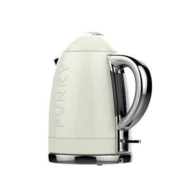 Cream Funky Kettle Pre-Order Now For Delivery In January 2021